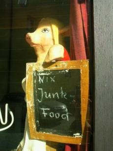 digestive process, junk food
